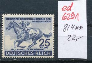 D.-Reich Nr. 814   **   (ed6291  ) siehe scan