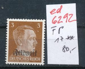D.-Reich Nr. FP  17  **   (ed6292  ) siehe scan