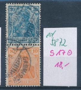 D.-Reich Nr.s17 o    (ed5872 ) siehe scan