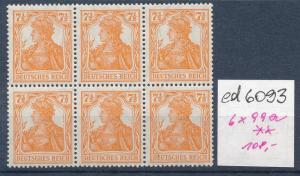 D.Reich  6x 99a  **    (ed6093 ) siehe scan