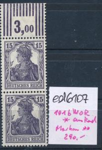 D.Reich Nr 101 b  WOR  **  (ed6107  ) siehe scan