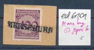 Merseburg seltener Stempel geprüft (ed6101  ) siehe scan