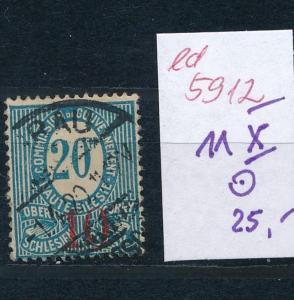 Oberschlesien-11 X    o..  (ed5912  ) siehe scan