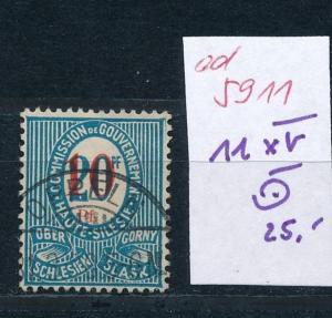 Oberschlesien-11 XV    o..  (ed5911  ) siehe scan