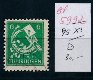 SBZ Nr. 95  XI   o...  (ed5992  ) siehe scan