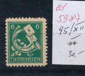 SBZ Nr. 95 XII  .**...  (ed5987  ) siehe scan