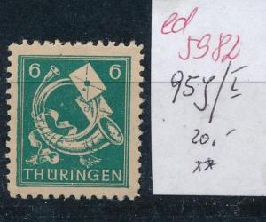 SBZ Nr. 95 Y/I    ** ....  (ed5982  ) siehe scan
