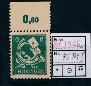 SBZ Nr. 95 Y/I   .**...  (ed5985  ) siehe scan