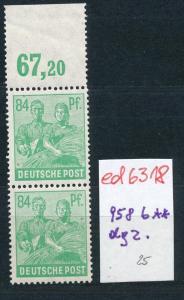 Zonen Nr. 958  OR dgz. ** ! (ed6318  ) siehe scan