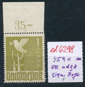 Zonen Nr. 959c   OR dgz. ** ! (ed6298  ) siehe scan