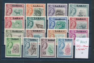 Sabah   Lot  **  313-28    (oo7449  ) siehe scan