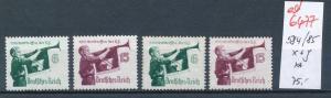 D.-Reich Nr. 584-85 x+y   **  (ed6477  ) siehe scan