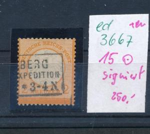 D.-Reich Nr. 15  o   (ed3667  ) siehe scan