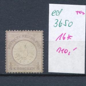 D.-Reich Nr. 16 *   (ed3650  ) siehe scan