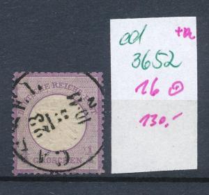 D.-Reich Nr. 16 o   (ed3652  ) siehe scan
