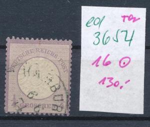 D.-Reich Nr. 16 o   (ed3654  ) siehe scan