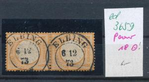 D.-Reich Nr. 18 Paar  o   (ed3659  ) siehe scan