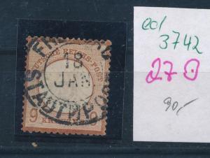 D.-Reich Nr. 27 o  (ed3742  ) siehe scan