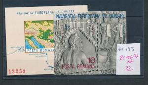 Rumänien  Block  146-7  **    (zu853  ) siehe scan