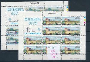 Malta CEPT-KB 1977  **     (zu879   ) siehe scan