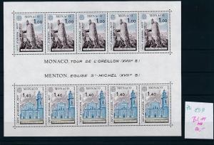 Monaco  CEPT- Bl. 1977  **     (zu899   ) siehe scan