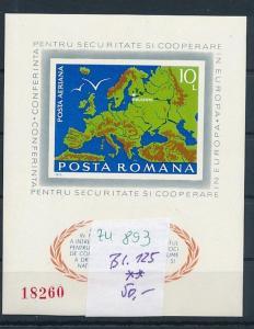 Rumänien Block 125   **     (zu893   ) siehe scan