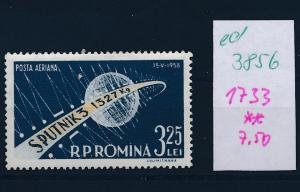 Rumänien  Nr. 1733     **   (ed3856  ) siehe scan