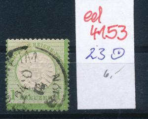 D.-Reich Nr. 23    o   (ed4153  ) siehe scan