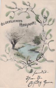 Motiv  Neujahr  ...-alte Karte    (ke1415   ) siehe scan