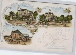 Altona  .....alte Litho Karte    (ke1963   ) siehe scan