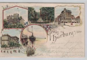 Harburg  .....alte Litho Karte    (ke1959   ) siehe scan