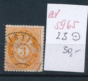 Norge  Nr. 23 o       (ed5965  ) siehe scan