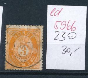 Norge  Nr. 23 o       (ed5966  ) siehe scan