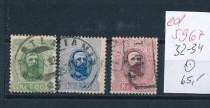 Norge  Nr. 32-34  o       (ed5967  ) siehe scan