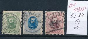 Norge  Nr. 32-34  o       (ed5968  ) siehe scan