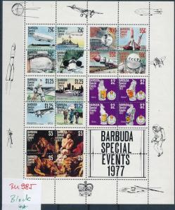 Barbados Block von 1977  **   (zu985  ) siehe scan