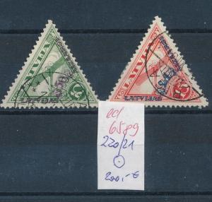 Litauen  Nr. 220-21   o     (ed6589  ) siehe scan