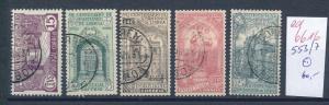 Portugal  Nr. 553-7    o     (ed6616  ) siehe scan