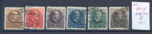 Österreich   Nr. 512-17    o     (ed6618  ) siehe scan