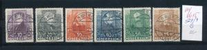 Österreich   Nr. 524-9    o     (ed6615  ) siehe scan