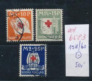 Finnland  Nr. 158-60   o  (ed6583  ) siehe scan