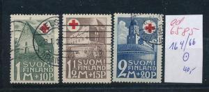 Finnland  Nr. 164-66  o  (ed6585  ) siehe scan