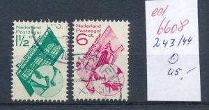 NL. Nr. 243-44  o  (ed6608  ) siehe scan