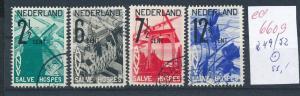 NL. Nr. 249-52   o  (ed6609  ) siehe scan