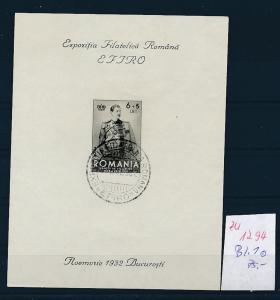 Rumänien Block 1 o   (zu1294   ) siehe scan