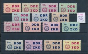 DDR  ZKD Lot  ( ze8764  ) siehe scan !