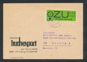 DDR Dienst netter Beleg  ( oo3991    ) siehe scan !