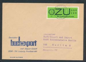 DDR Dienst netter Beleg  ( oo3992    ) siehe scan !