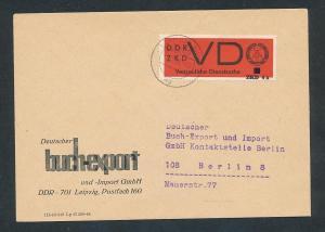 DDR Dienst netter Beleg  ( oo3993   ) siehe scan !