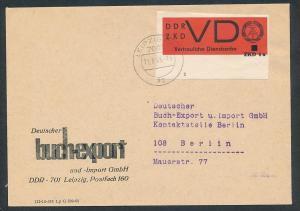 DDR Dienst netter Beleg  ( oo3994   ) siehe scan !